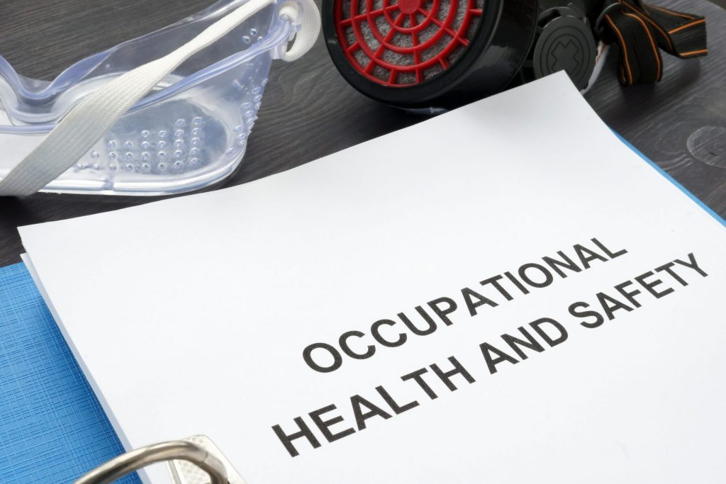 Folder for Occupational Health and Safety